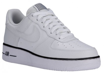 Nike Air Force 1 Low Hommes sneakers blanc/noir LBM045