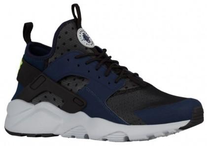 Nike Air Huarache Run Ultra Hommes chaussures bleu marin/noir CXF415