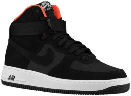 Nike Air Force 1 High Hommes baskets noir/Orange NKF366