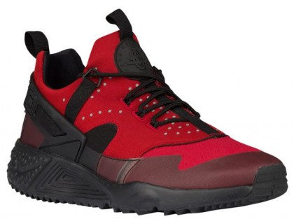 Nike Air Huarache Utility Hommes sneakers rouge/noir ABT456
