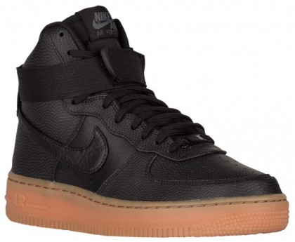 Nike Air Force 1 High SE Femmes baskets noir/bronzage ZBB306