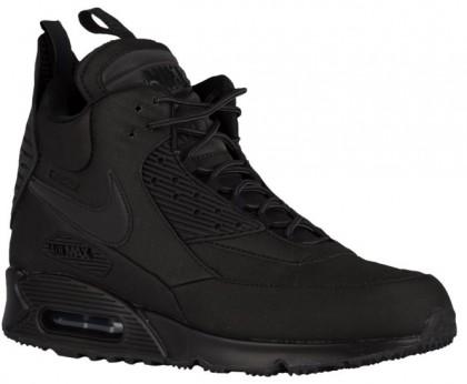 Nike Air Max 90 Sneakerboot men baskets noir/gris SYZ836