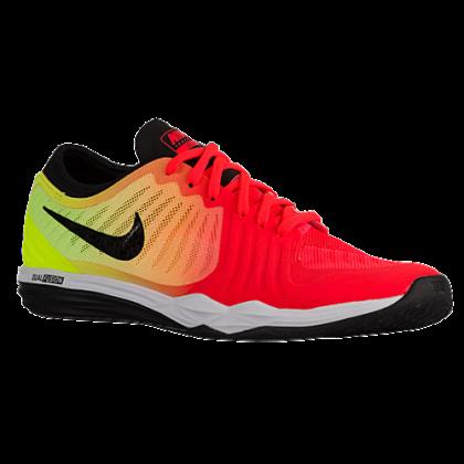 Nike Dual Fusion TR 4 Femmes baskets rouge/vert clair RLT398